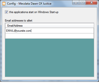 Mecdata Down Of Justice Screen shot